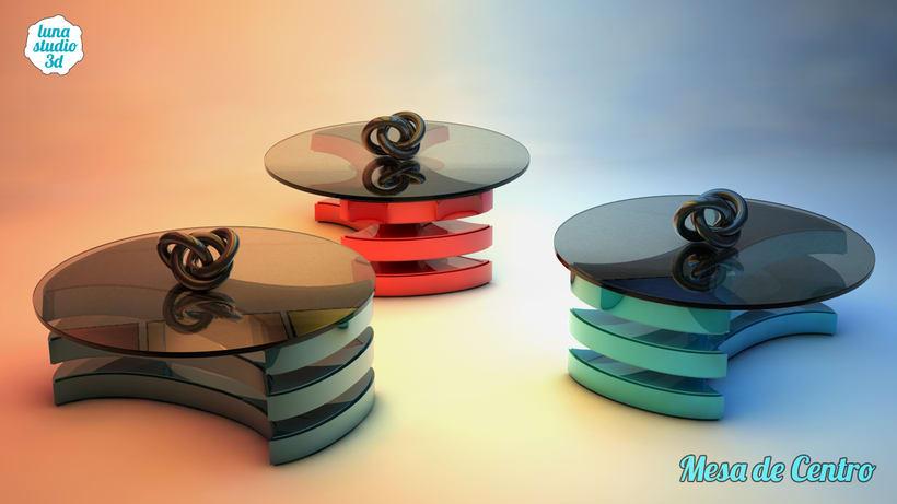 Diseño 3D - Mesa 0