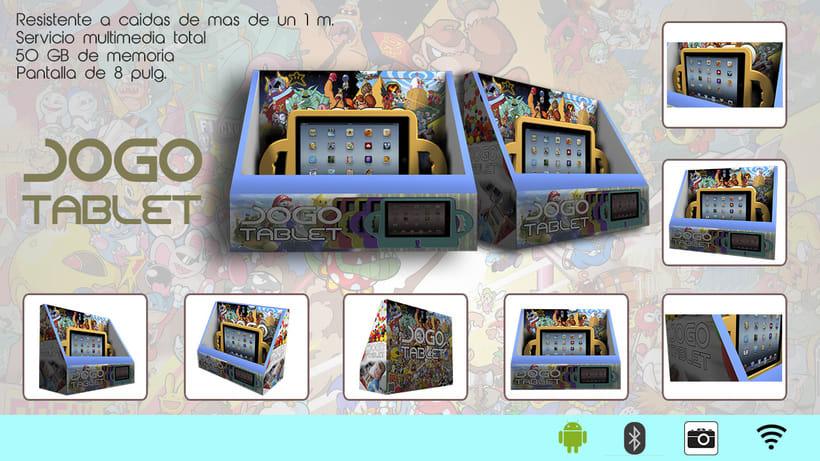 Diseño 3D - Tablet JOGO 0