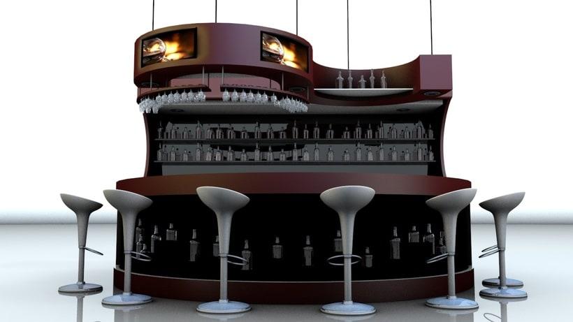 Diseño 3D - Barra 0
