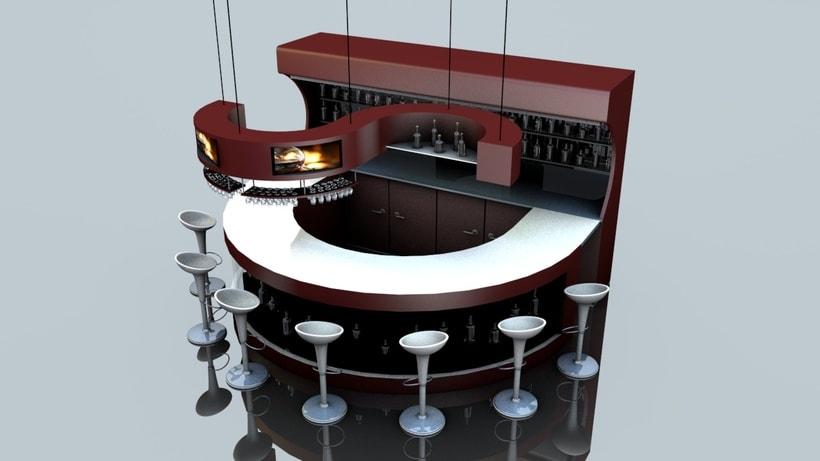Diseño 3D - Barra 1