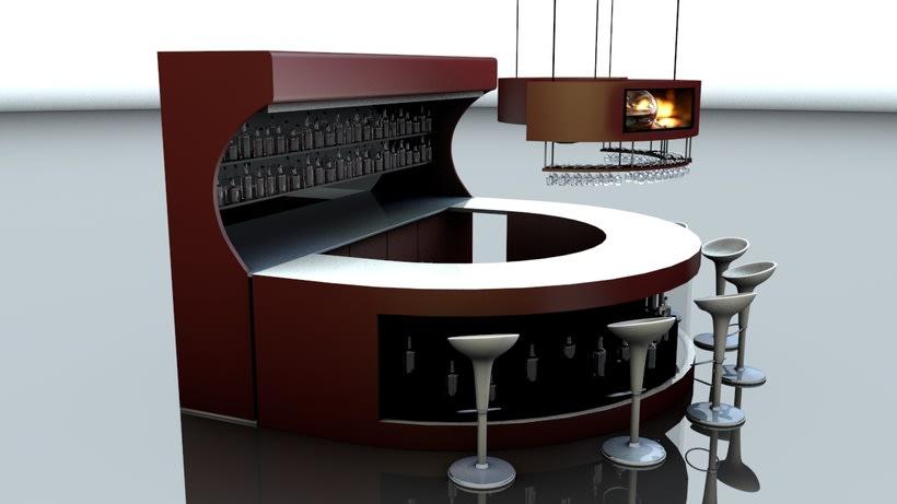 Diseño 3D - Barra 2