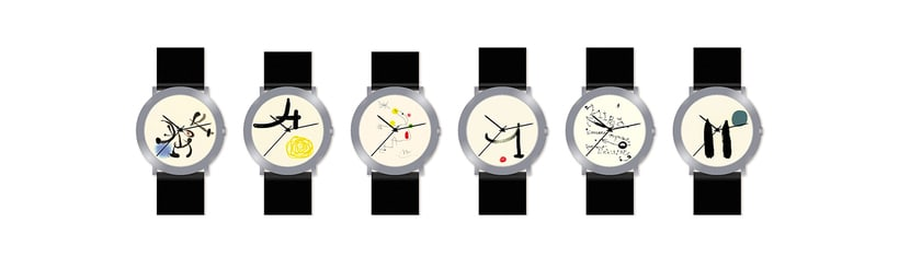 Watches collections & graphic & industrial materials 2