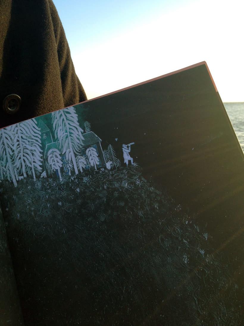 Ahab y la Ballena Blanca. Edelvives 2014. Libro-Álbum Infantil. 3