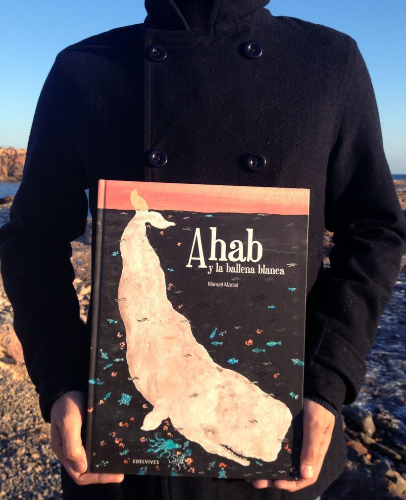 Ahab y la Ballena Blanca. Edelvives 2014. Libro-Álbum Infantil. 4