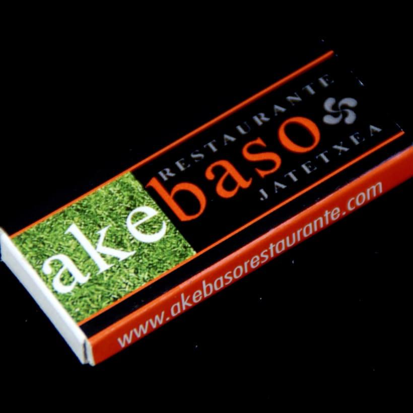 Cajas de Cerillas para Restaurante Akebaso 0