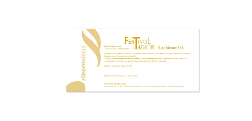 Design of the music festival & graphic materials 5