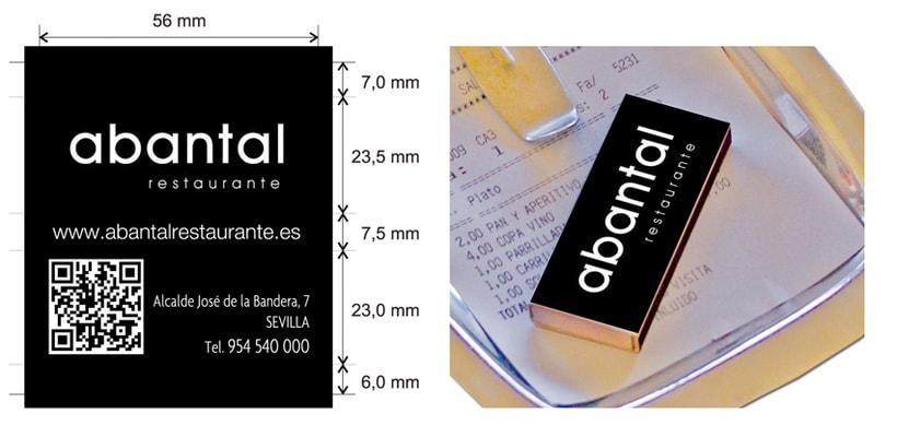 Cajas de Cerillas para Restaurante Abantal 0