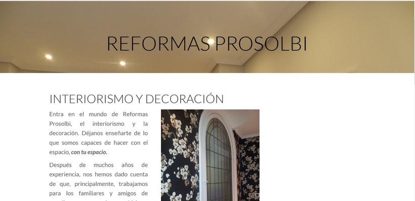 Reformas Prosolbi - Diseño - Posicionamiento SEM 0