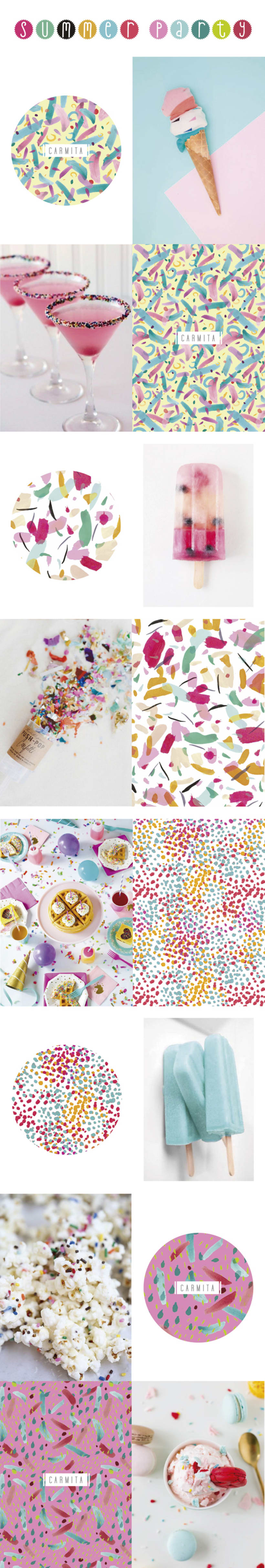 """Summer Party"" - Pattern Collection Summer 2015 - 0"