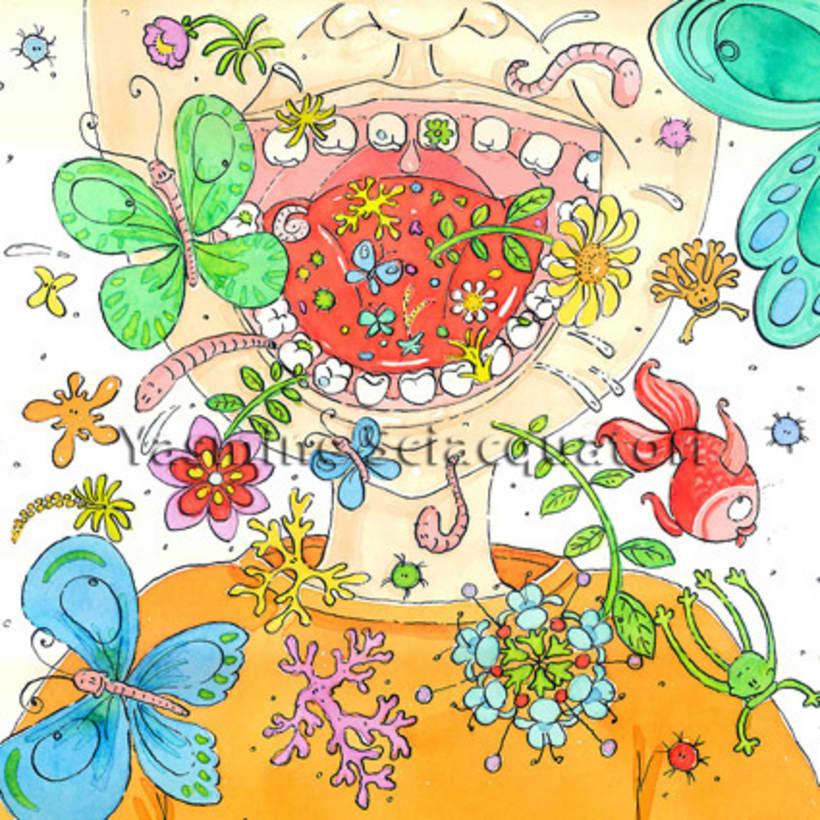 cuento infantil: Les dents d'en Tomàs 4