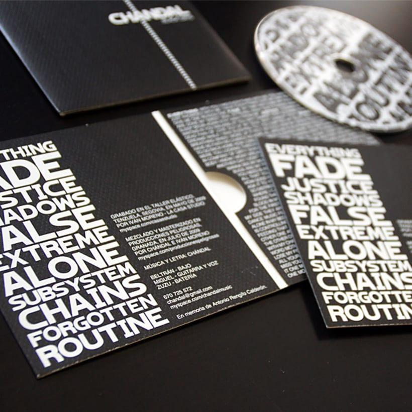 Chándal - Packaging CD 4
