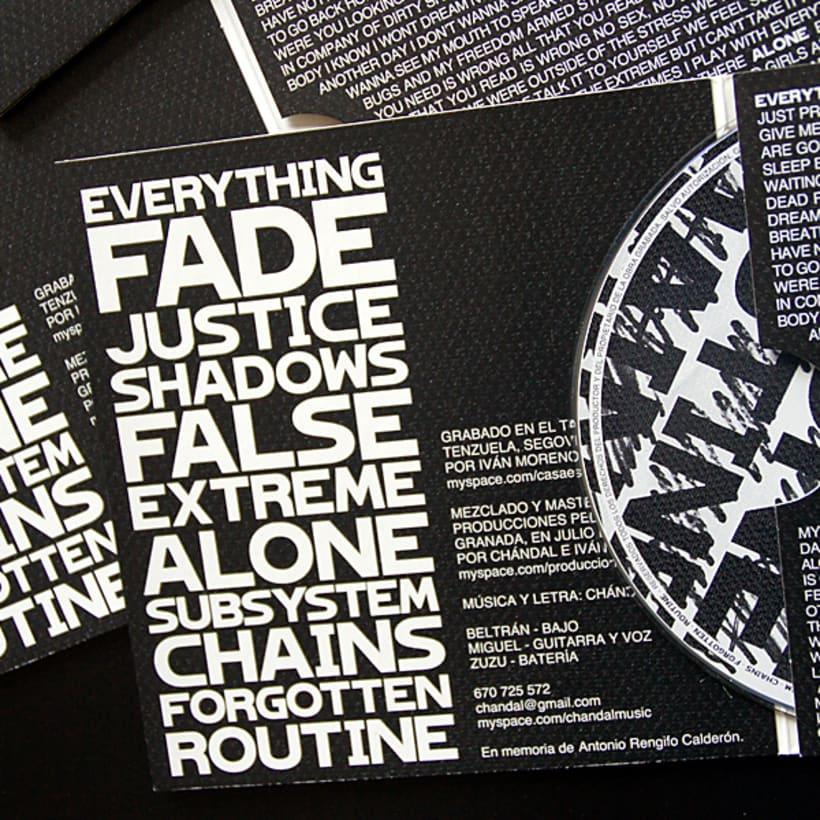 Chándal - Packaging CD 5