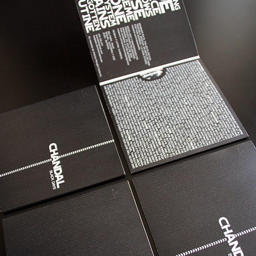 Chándal - Packaging CD 3