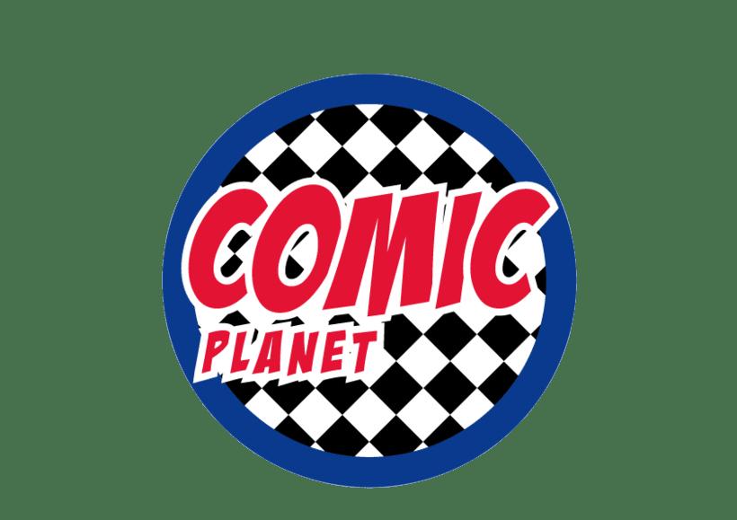 Logo Comic Planet 1