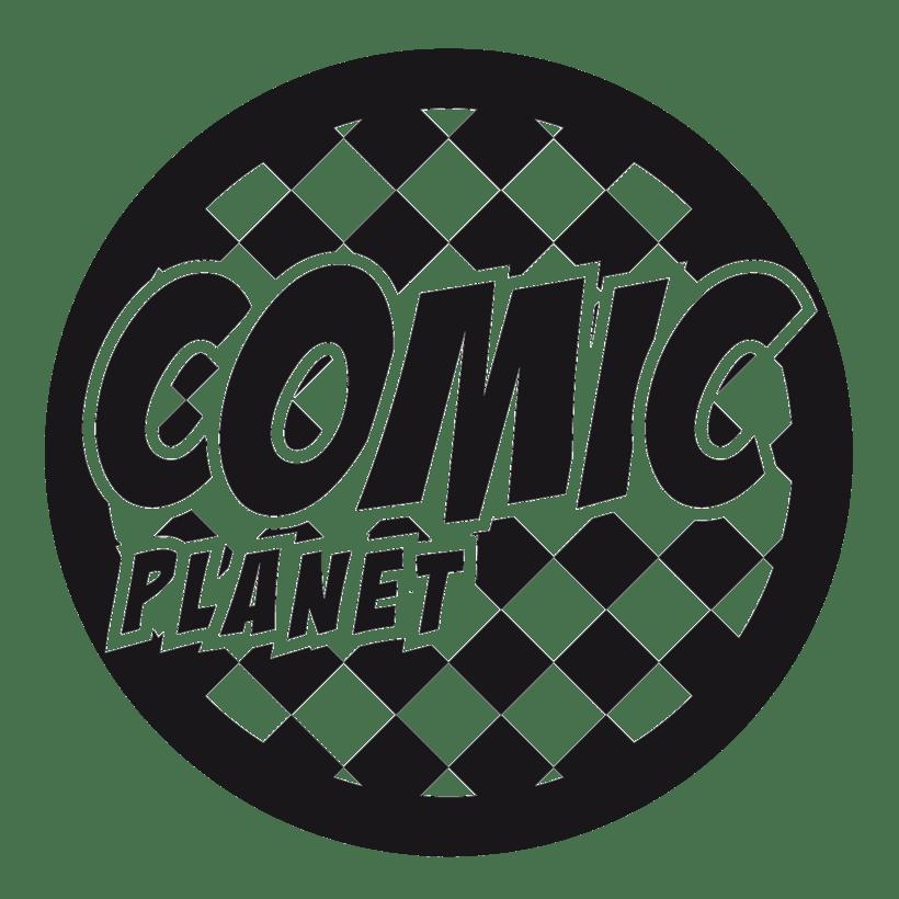 Logo Comic Planet 2