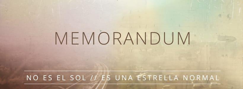 Memorandum (album artwork) 0