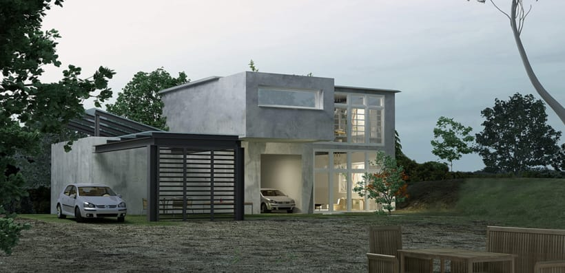 Render arquitectura 3d prodisema domestika for Software arquitectura 3d