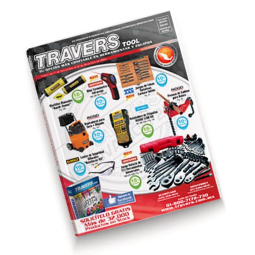 Jefe de Maquetación Revista Travers Tool México -1
