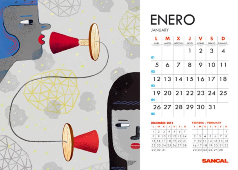 Calendario SANCAL 2015 2