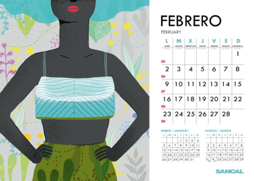 Calendario SANCAL 2015 4
