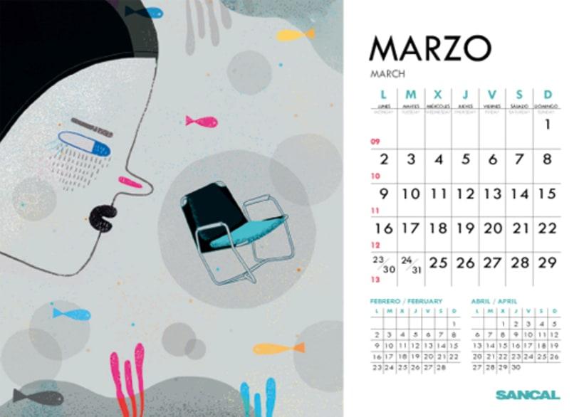 Calendario SANCAL 2015 6