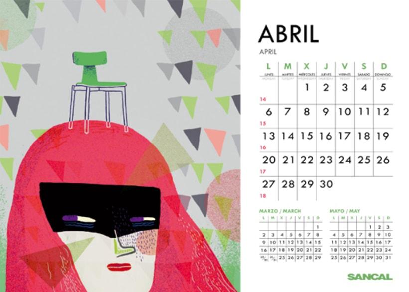 Calendario SANCAL 2015 8