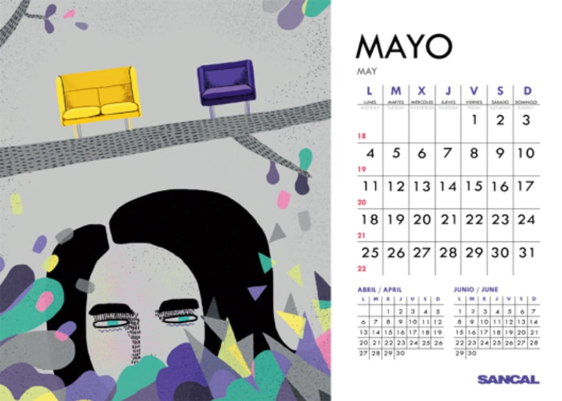 Calendario SANCAL 2015 10
