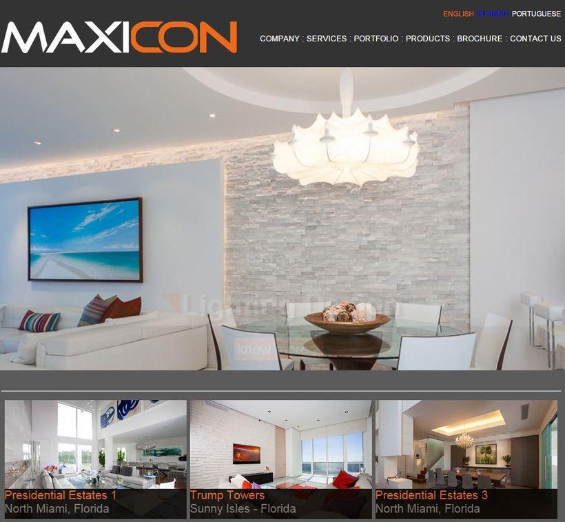 Maxicon   Web   Estados Unidos  1