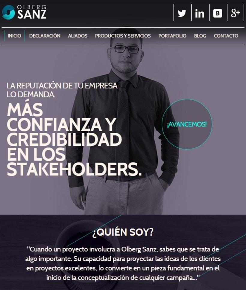 Olberg Sanz | Web | España 1