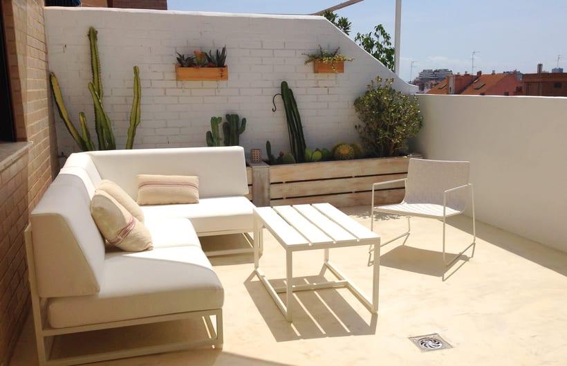 Terraza benimaclet domestika - Pintar terraza ...