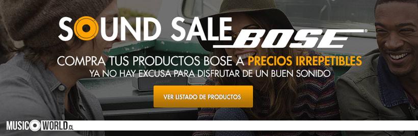 Campaña Sound Sale Bose 1