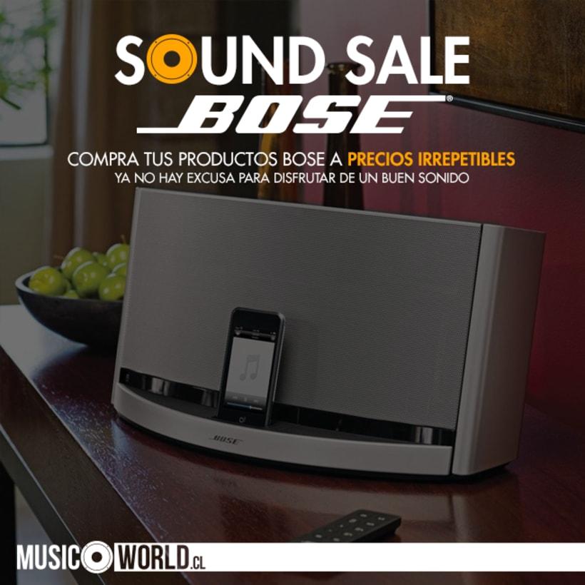 Campaña Sound Sale Bose 2