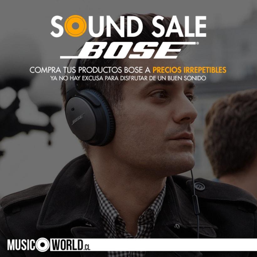Campaña Sound Sale Bose 3