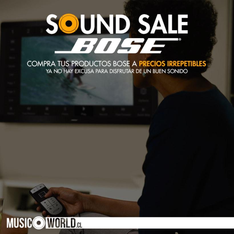 Campaña Sound Sale Bose 5