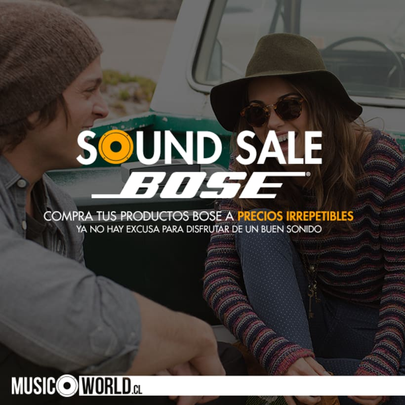 Campaña Sound Sale Bose 6