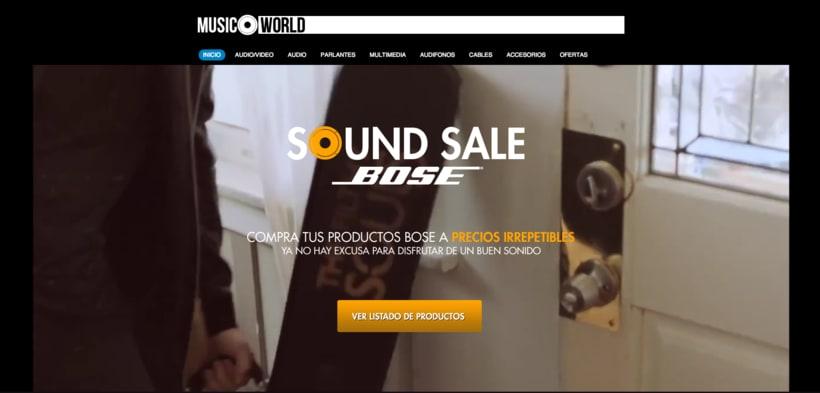 Campaña Sound Sale Bose 7