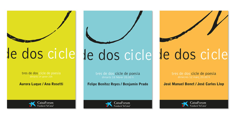 Caixa Fòrum's Cycle of Poetry 4