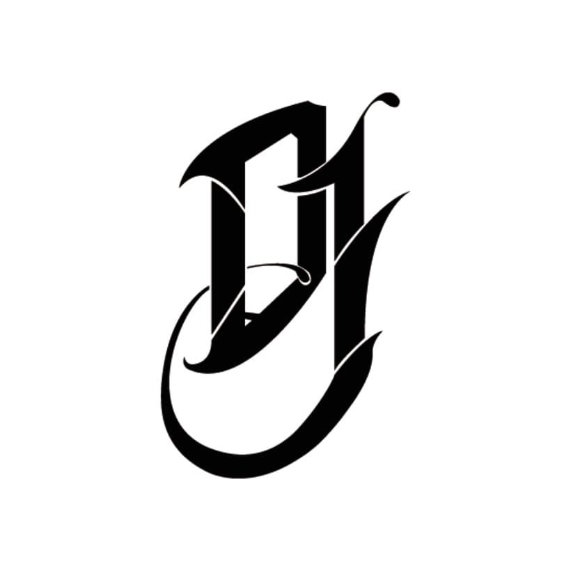 DJ Damaro / Logo&Lettering 1