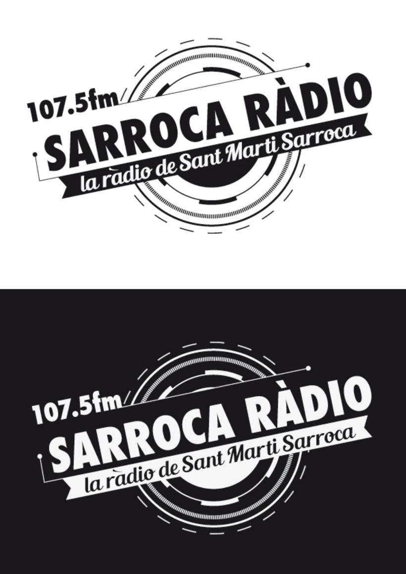 Logo/Sarroca Ràdio  -1