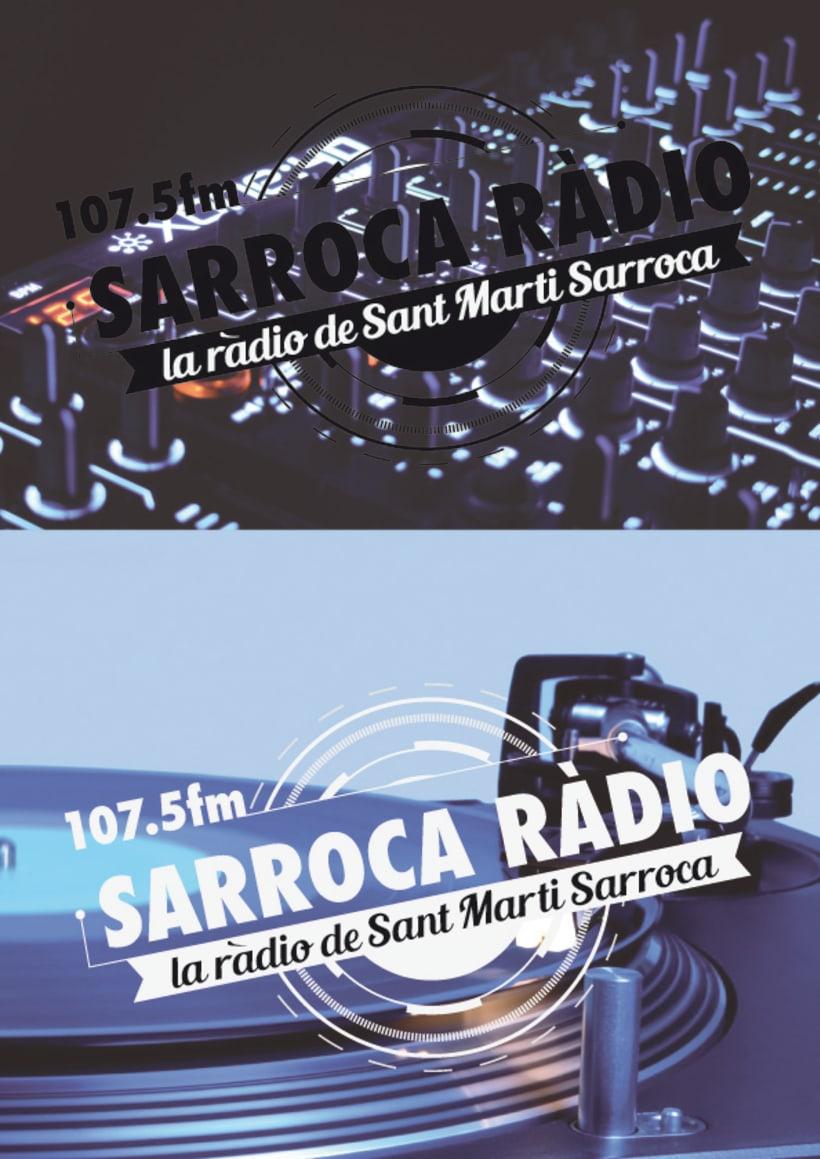 Logo/Sarroca Ràdio  0