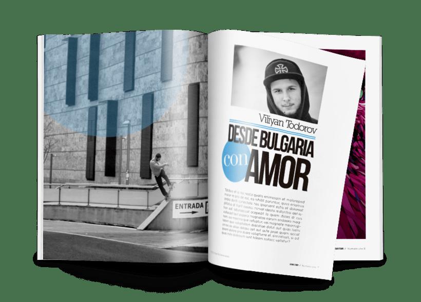 LOGOTIPO + PORTADA (Down Town Skate Mag) 4