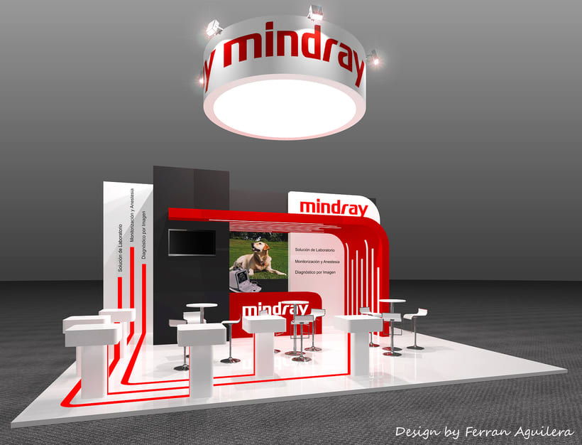 Diseño de un stand para Mindray -1