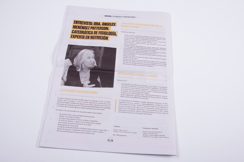 El periódico de la Fundación Alimerka 13