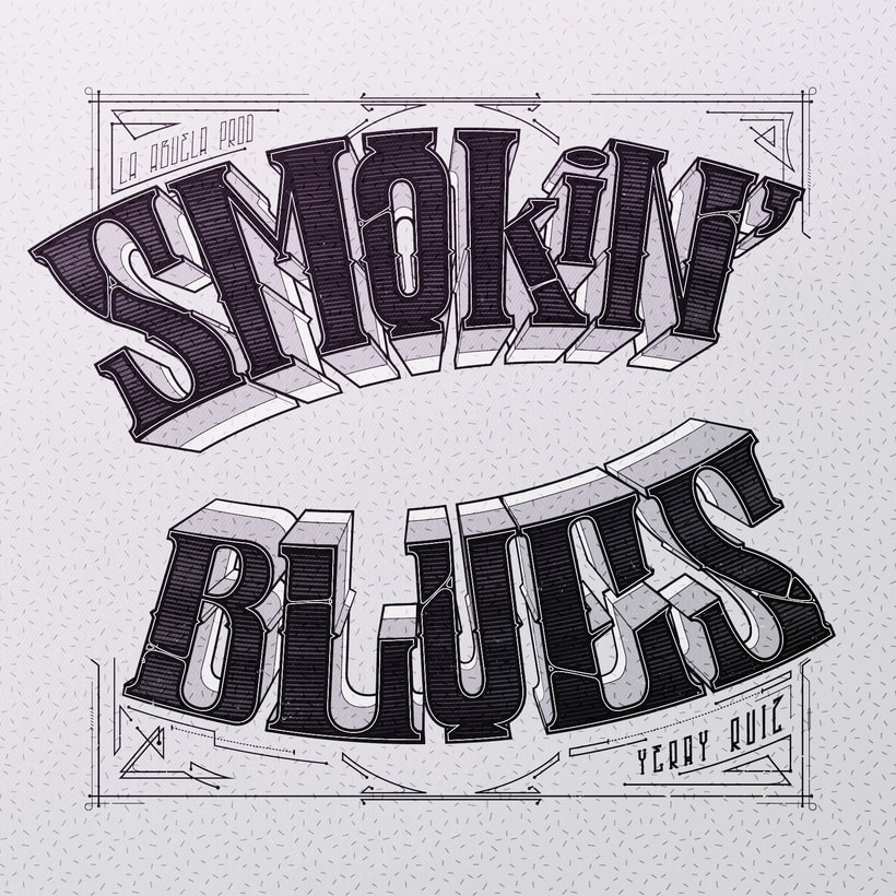 DISEÑO DE DISCO EN DIGIPACK (Smokin Blues) 1