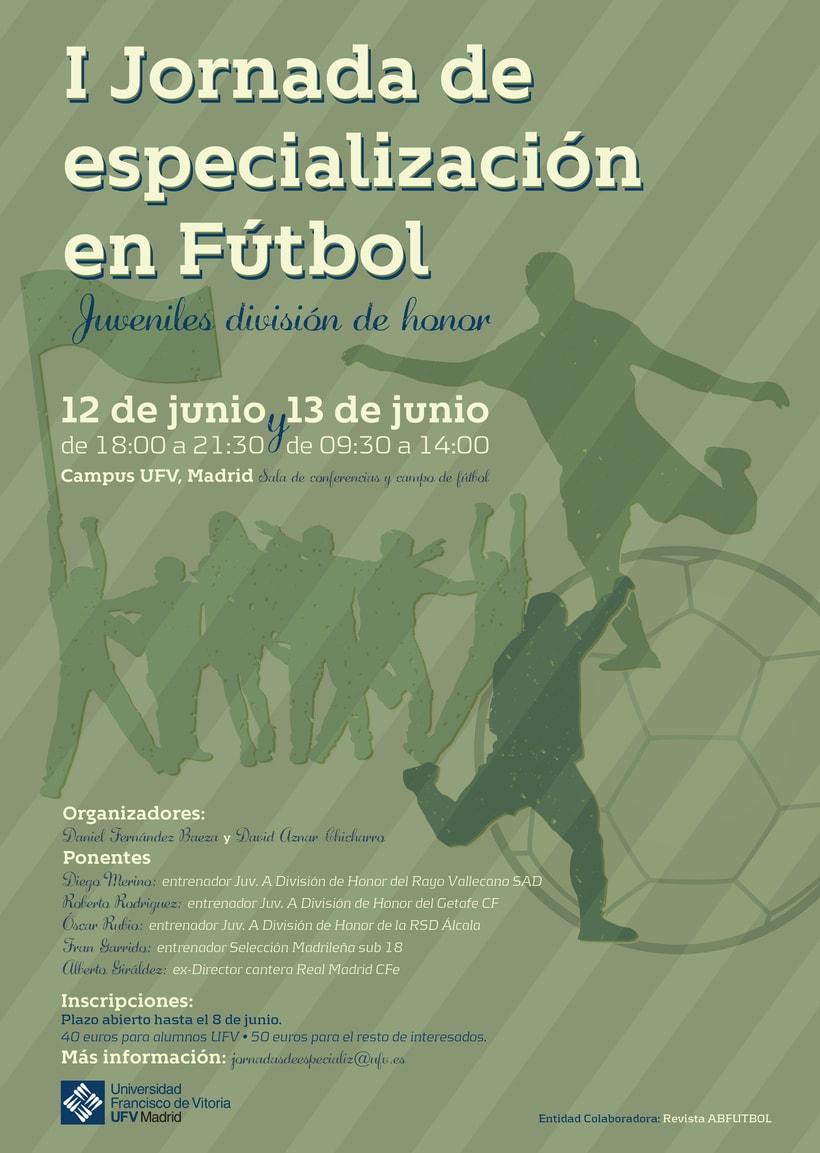 Cartel Jornada deportiva 1