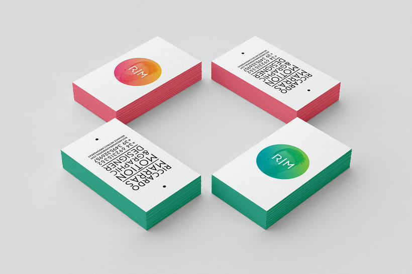 Personal Business Cards 1