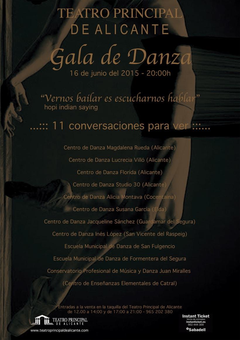 Cartel para la Gala de Danza -1