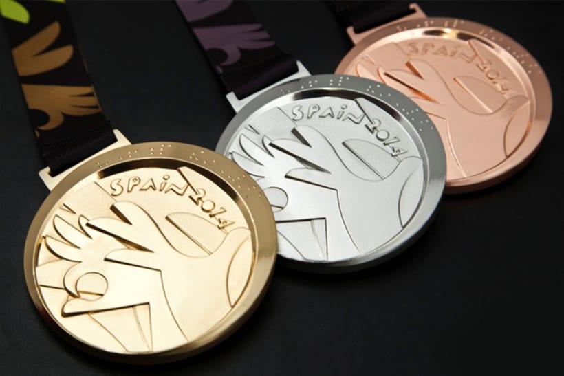 Medallas FIBA Spain 2014 0