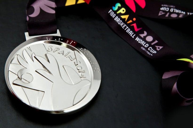 Medallas FIBA Spain 2014 1