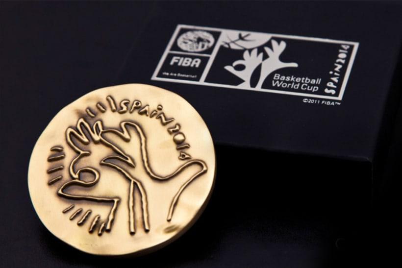 Medallas FIBA Spain 2014 2